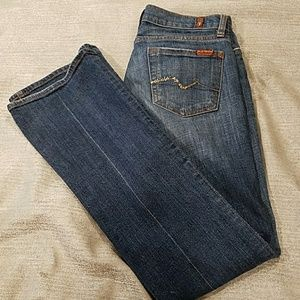 7 For All Mankind Denim Jeans, Bootcut Denim Jeans